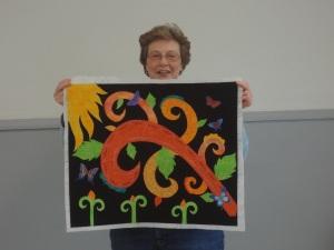 """""""art quilt"""""""