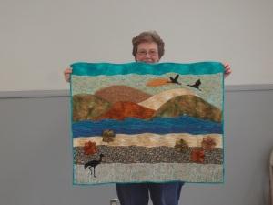 """""""landscape art quilt"""""""