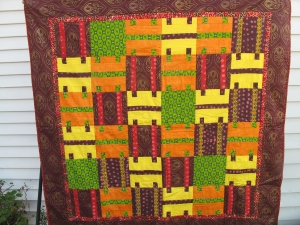 This is one of Ellie's  beautiful quilts that she  will be displaying in the L/A Art Walk on Sept. 27, 2013, 5:00-8:30 p.m.   Come see the magnificent sights and join in the cultural experience!