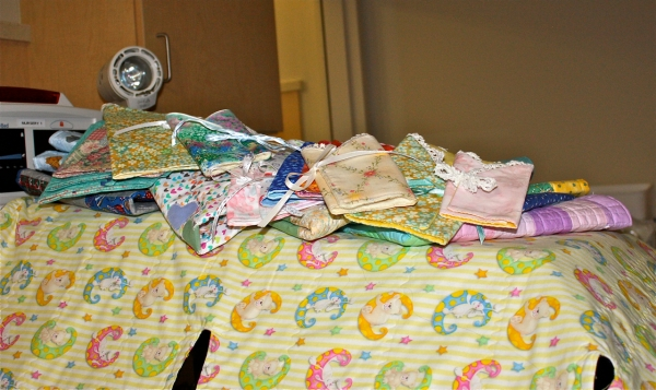 Lots of donated baby items
