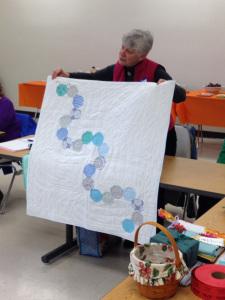 Karen's modern octagons and caterpillars!