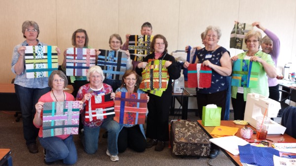 Group Photo of Maine Modern Quilters (not all members present in photo)