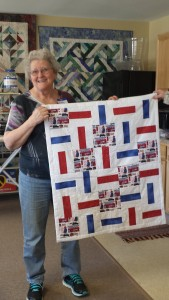Adma Willis' Modern quilt. Woo Hoo Adma!