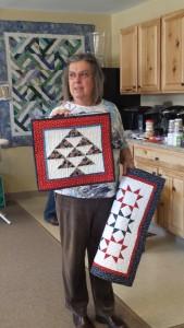 Jane Hann Morey's mod quilts