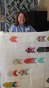 Karhtyn Simel's own modern quilt design