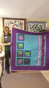 Sharon Vandermay's striking quilt!