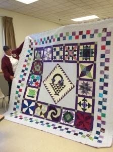 a raffle quilt by Carmen