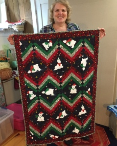 Marie had been busy. 3 beautiful quilts.