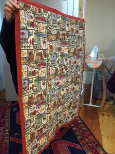 another charity quilt by Betsy