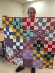 Another charity quilt by Mona